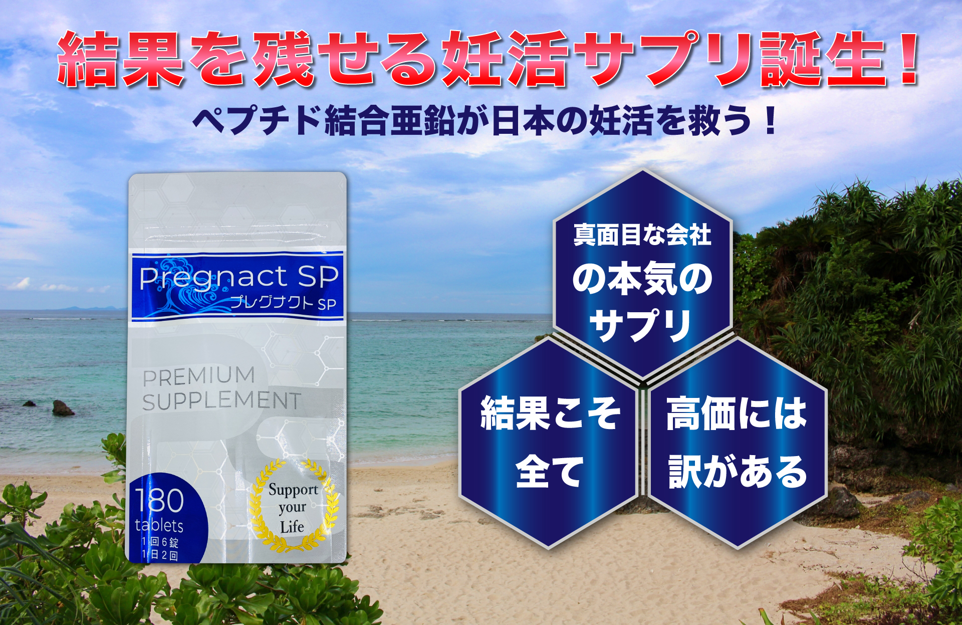 プレグナクトSP 妊活サプリメント